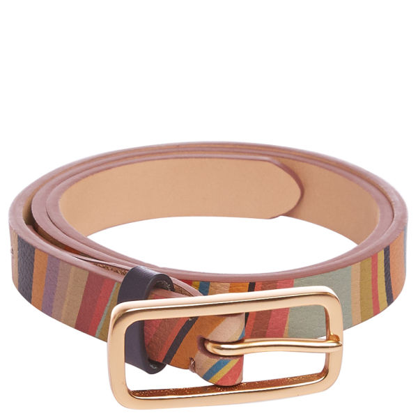 Paul Smith Accessories Women's Esma Leather Belt - Multi Swirl