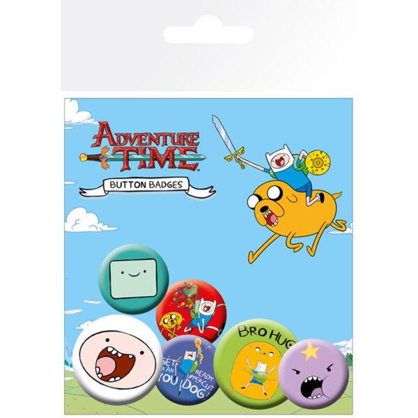 Lot de Badges Adventure Time Finn