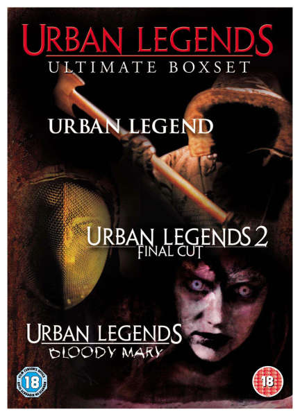 Urban Legends Ultimate Box Set Dvd Zavvi