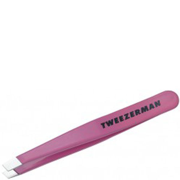 Tweezerman Mini Slant Tweezer - Flamingo Pink