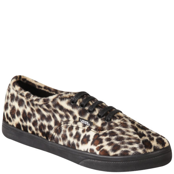 Vans Women s Authentic Lo Pro Trainers - Furry Leopard Womens ... 0da74fc7a