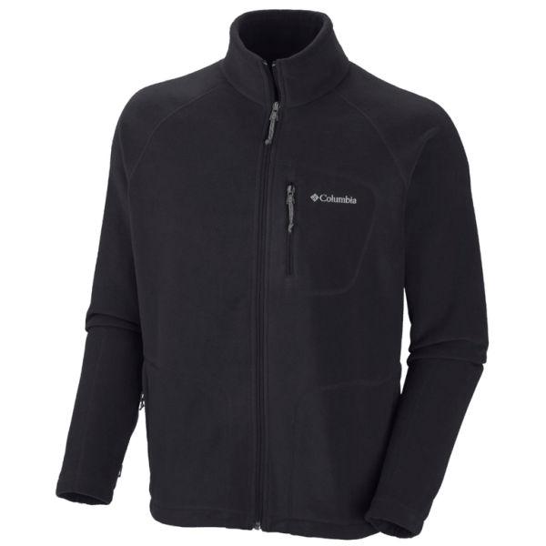 Columbia Men's Fast Trek 11 Zipped Fleece - Black