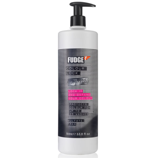 Fudge Colour Lock Shampoo 1000ml (Worth £33.00)