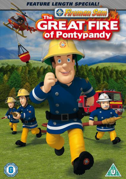 fireman sam the great fire of pontypandy dvd zavvi