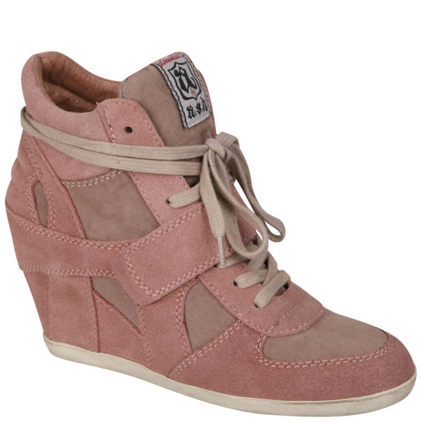 Ash Women's Bowie Wedged Hi-Top Trainers - Cipria