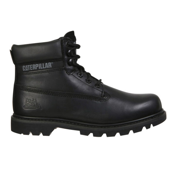 Caterpillar Unisex Colorado Leather Boots - Black