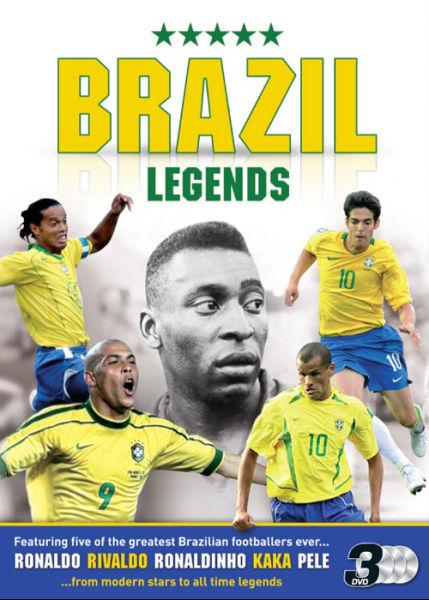 Brazilian Football Legends Ronaldo Ronaldhino Kaka