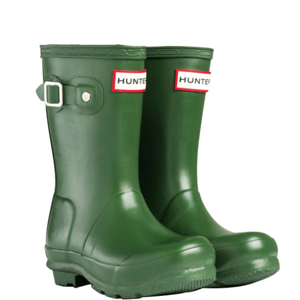 Hunter Kids' Original Wellies - Green