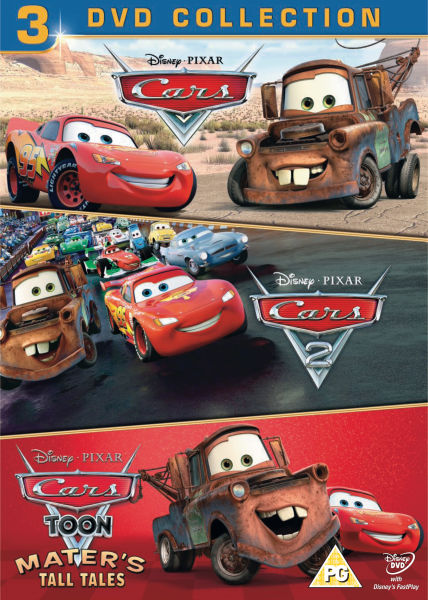 cars 1 cars 2 cars toon maters tall tales dvd zavvi. Black Bedroom Furniture Sets. Home Design Ideas