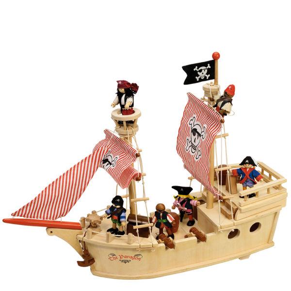 Tidlo The Paragon Pirate Ship Toys Thehut Com