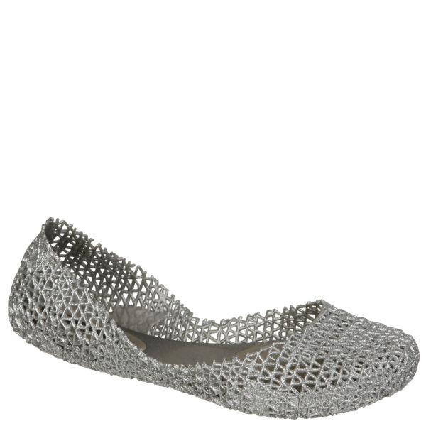 Melissa Women's Papel II Shoes - Silver Glitter