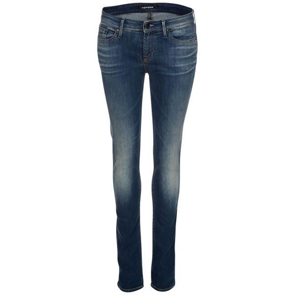 Denham Women's Cleaner Regular Mid Rise Skinny Jeans