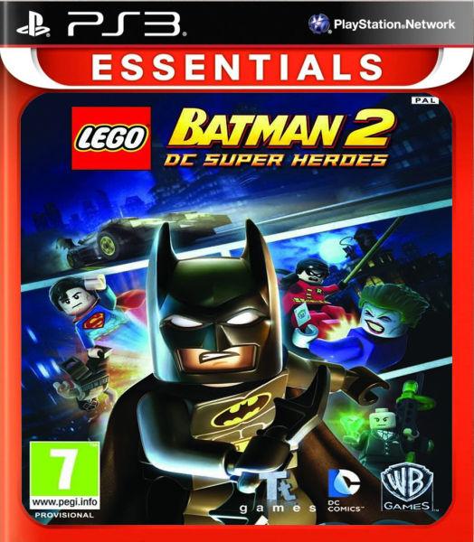 Lego Games For Ps3 : Lego batman dc super heroes essentials ps zavvi
