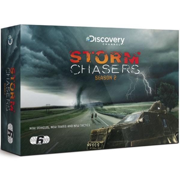 Storm Chasers Season Two Gift Set Dvd Zavvi