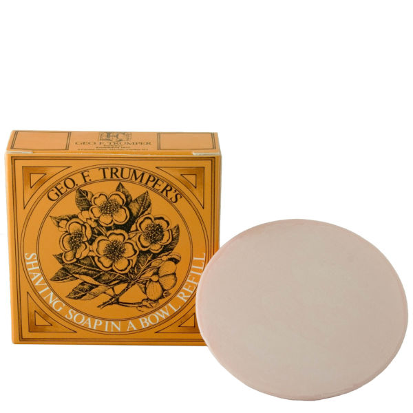 Trumpers Almond Oil Hard Shaving Soap Refill - 80 g