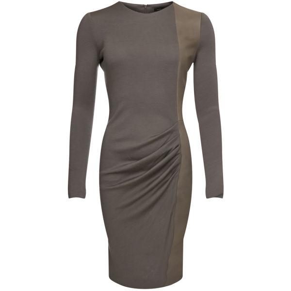 Joseph Women's Grove New Wool Interlock Dress - Taupe