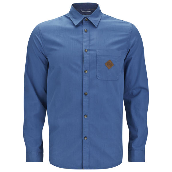 Jack Jones Mens Swartch Shirt Bright Cobalt Mens