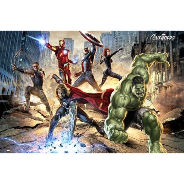 The Avengers Strike - Maxi Poster - 61 x 91.5cm