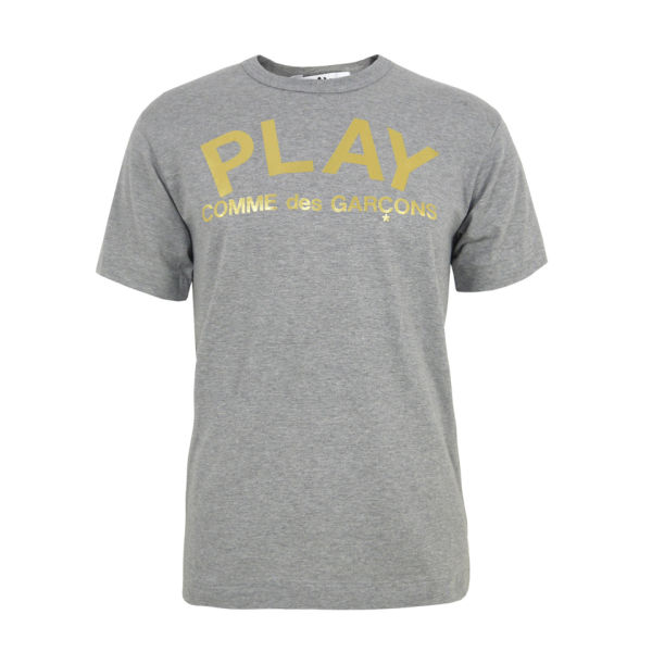 Comme des Garcons PLAY Men's P1-T142 T-Shirt - Grey