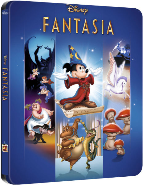 Fantasia - Zavvi Exclusive Limited Edition Steelbook (The Disney Collection #6) (UK EDITION)