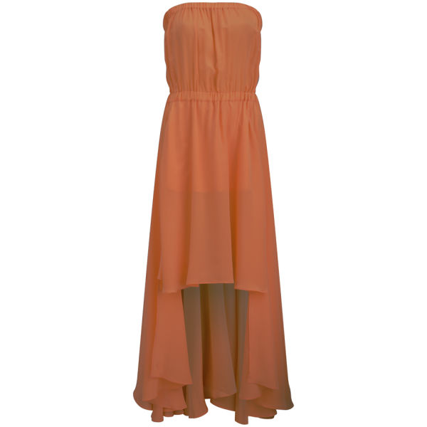 D.EFECT Women's Sofia Dress - Orange