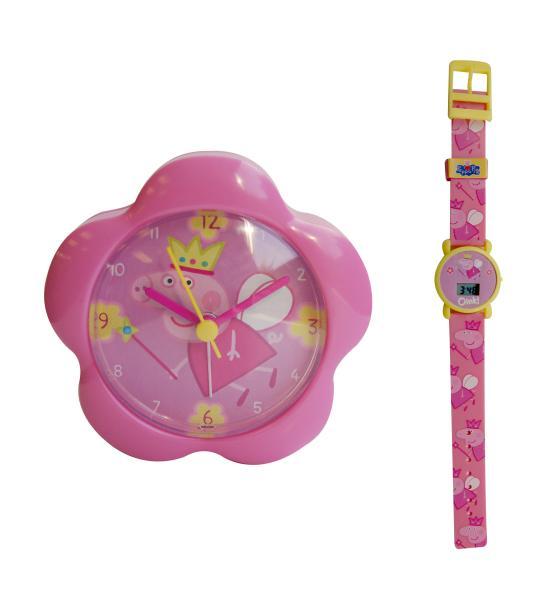 Peppa Pig Lcd Watch Amp Alarm Gift Set Toys Thehut Com