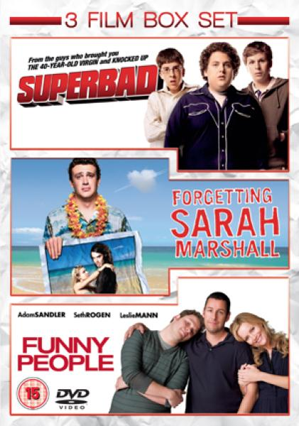 Funny People / Superbad / Forgetting Sarah Marshall