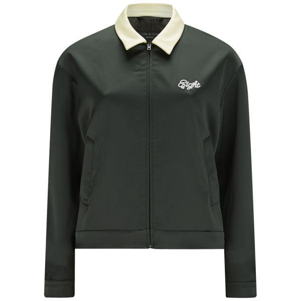 Rag Amp Bone Women S Dean Contrast Collar Jacket Green