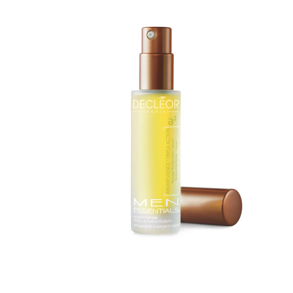 Sérum afeitado perfecto Aromessence Triple Action de Decléor Men (15 ml)