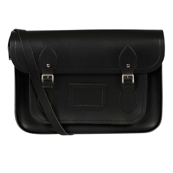 The Cambridge Satchel Company 15 Inch Classic Leather Satchel - Black