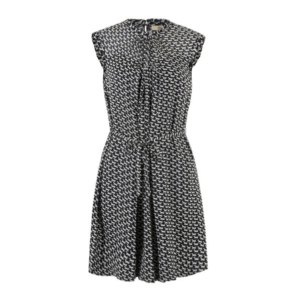 Orla Kiely Women's CFM753 Come Fly With Me Dress - Ink