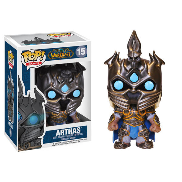 Figurine Pop! World of Warcraft Arthas
