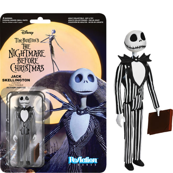 ReAction The Nightmare Before Christmas - Jack Skellington - 3 3/4