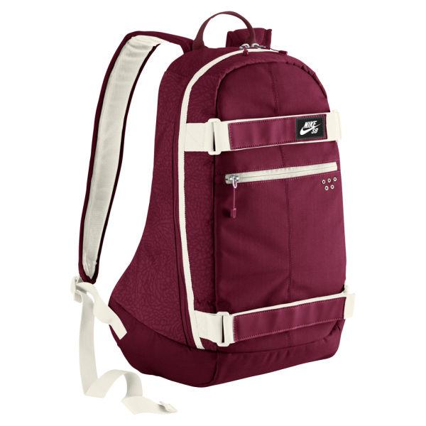 Nike SB Embarca Medium Backpack - Team Red/Light Bone: Image 1