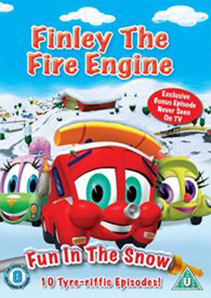 Finley The Fire Engine - Fun In The Snow