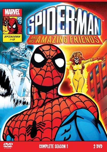 Spider Man Amp His Amazing Friends Complete Season 1 Double