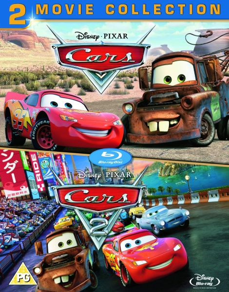 cars 1 and 2 blu ray