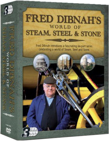 Fred Dibnah's World of Steam, Steel and Stone - Triple Pack