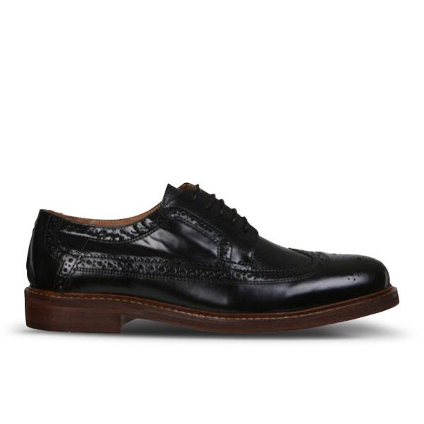 Hudson London Men's Callaghan Shoes - Black | FREE UK ...