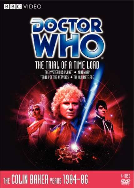 Doctor Who Trial Of A Time Lord Dvd Zavvi