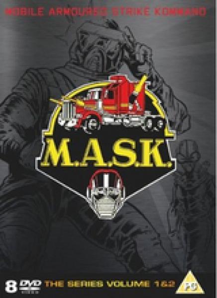 M A S K Series 1 2 Complete Dvd Zavvi