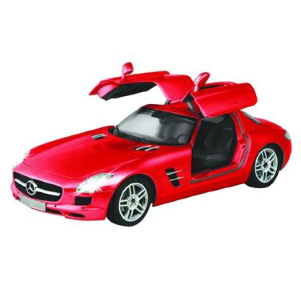 Race Tin Mercedes Sls Amg 1 16 Scale Remote Control Car Image