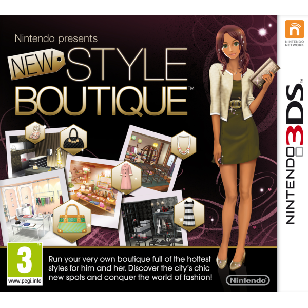 nintendo presents new style boutique 3ds Description show off your unique style and become the town's newest trendsetter when nintendo presents: new style boutique struts its way onto nintendo 3ds.