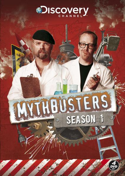 Mythbusters Season 1 Dvd Zavvi