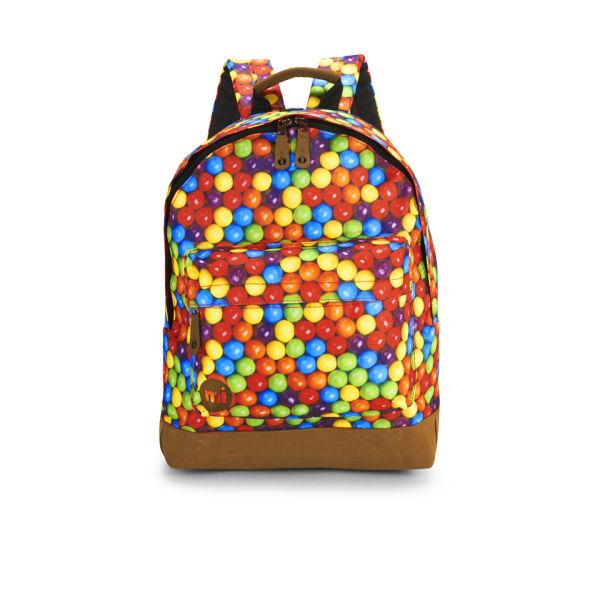 Mi-Pac Premium Gumballs Sublimated Print Backpack - Multi