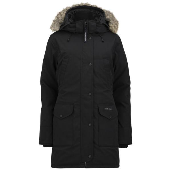 Canada Goose Women's Trillium Fur Trim Hooded Parka - Black