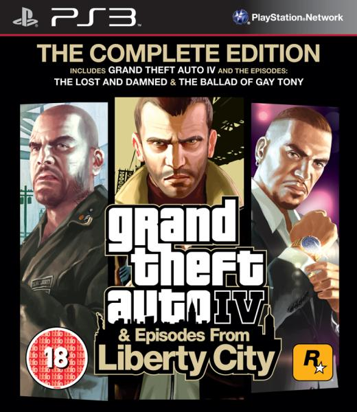 Gta Grand Theft Auto V 5 Ps3: Grand Theft Auto IV (4): The Complete Edition PS3