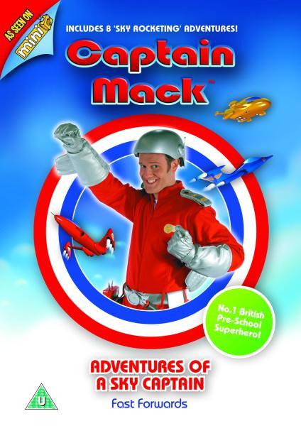 Captain Mack Adventures Of A Sky Captain Dvd Zavvi