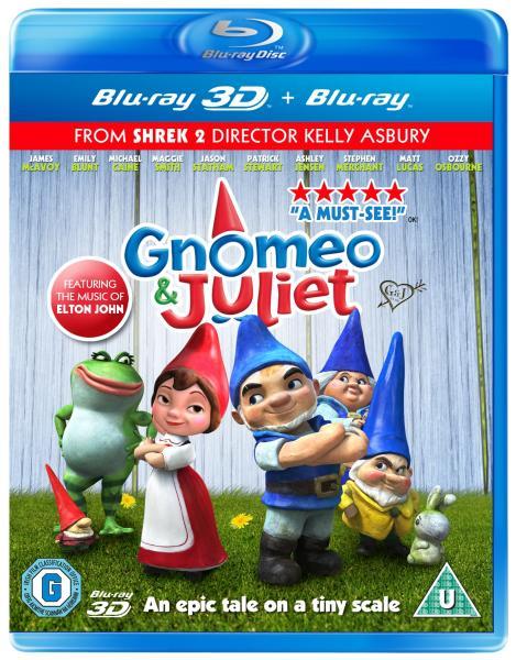 Gnomeo et Juliette 3D (+2D)