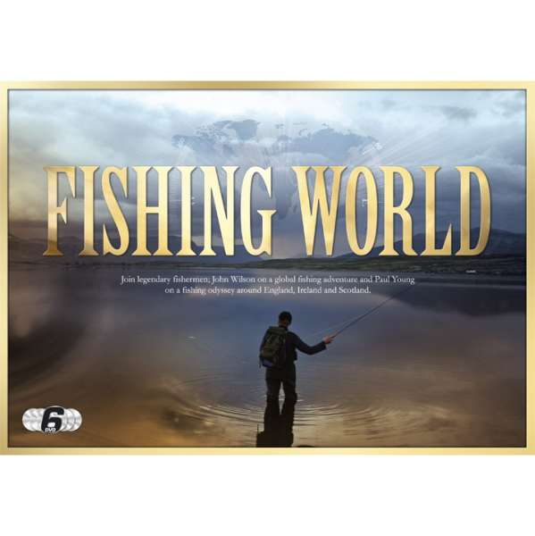 Fishing world with john wilson and paul young gift set for Fishing with john